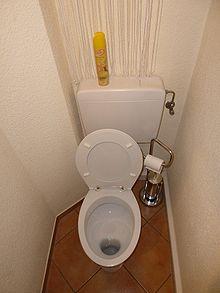 définition toilette