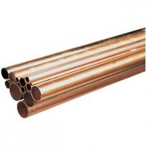 diamètre des tubes de cuivre