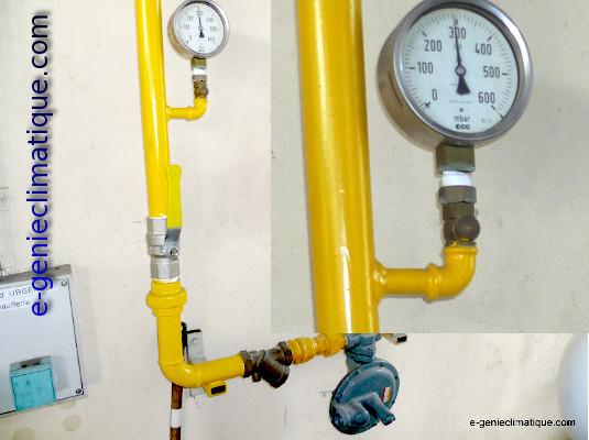 installation d'une chaudière gaz