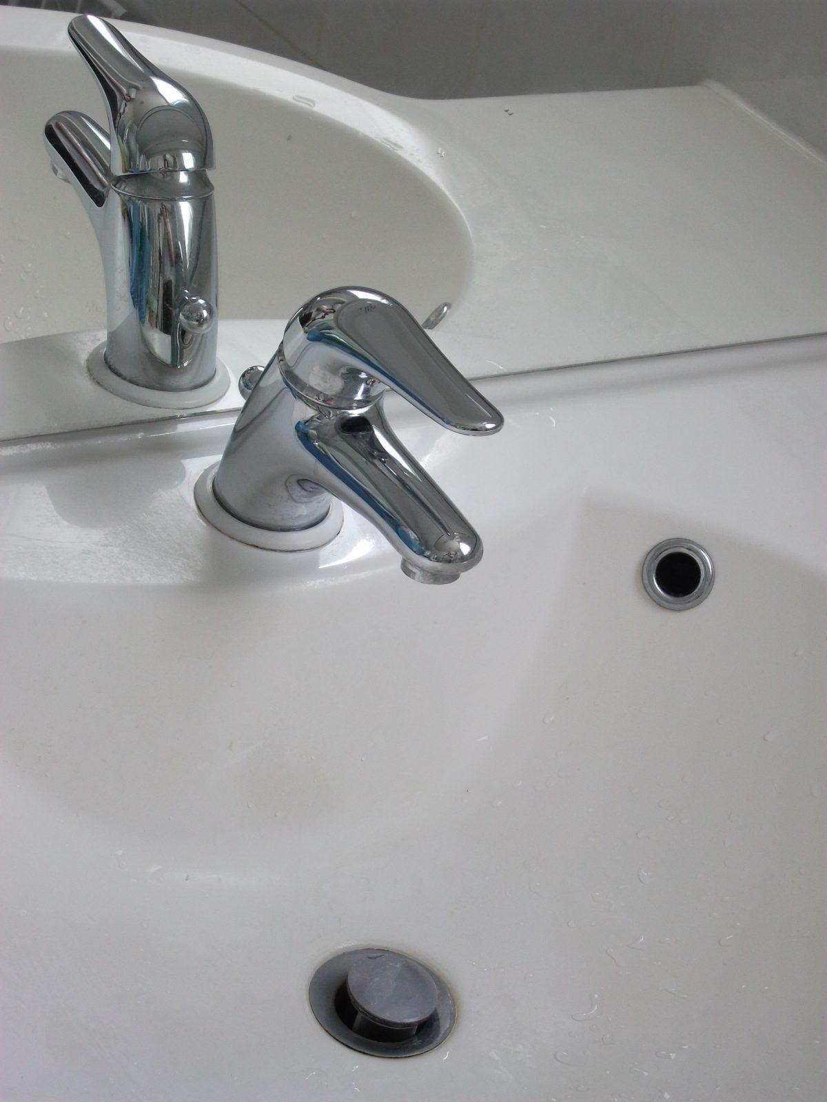 montage bonde lavabo