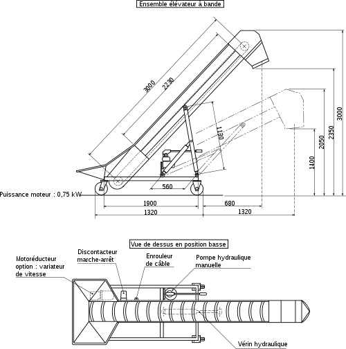 raccord tube aluminium rond