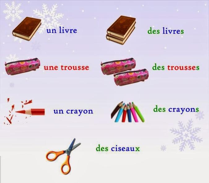 faire des exercices de français