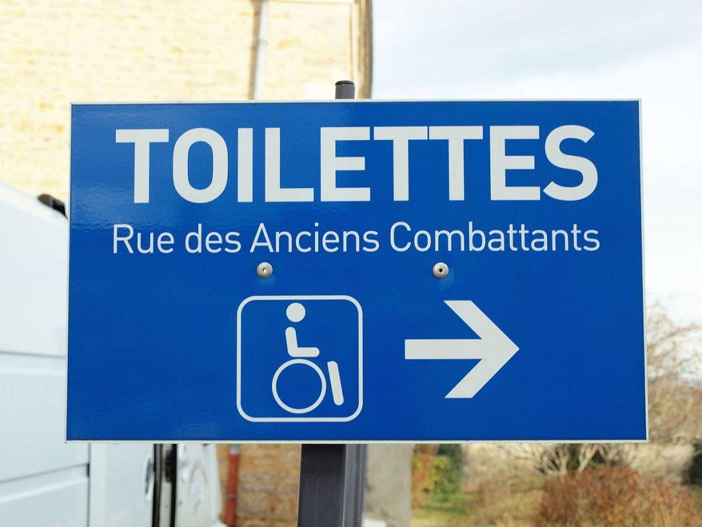 definition de la toilette