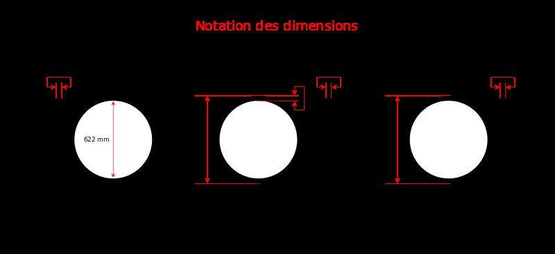 Diamètre 4 Pouces En Mm