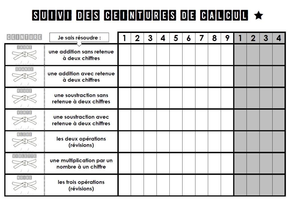 exercice de maths cm1
